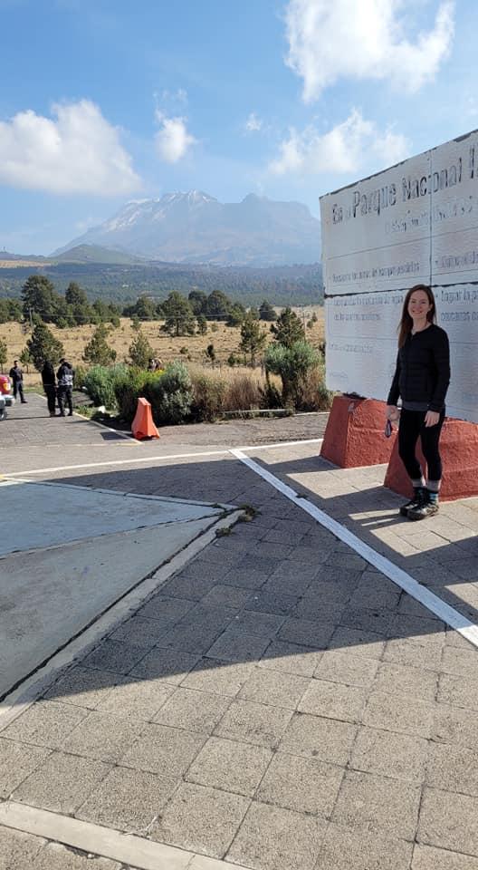 Mimsie at Parque nacional Iztaccihuatl-Popocatépetl